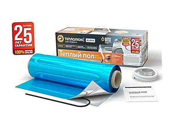Мат нагревательный Теплолюкс Alumia